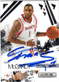 TRACY McGRADY AUTOGRAPHED BASKETBALL CARD #71111M
