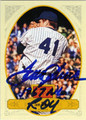 TOM SEAVER NEW YORK METS AUTOGRAPHED BASEBALL CARD #71013i