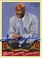 JAMES WORTHY AUTOGRAPHED BASKETBALL CARD #71312C