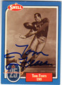 TOM FEARS LOS ANGELES RAMS AUTOGRAPHED FOOTBALL CARD #71313C