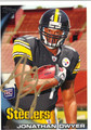 JONATHAN DWYER AUTOGRAPHED ROOKIE FOOTBALL CARD #71411C