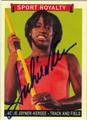 JACKIE JOYNER-KERSEE AUTOGRAPHED CARD #71712B
