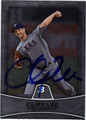 CLIFF LEE AUTOGRAPHED BASEBALL CARD #71811D