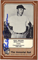 PAUL BROWN AUTOGRAPHED VINTAGE FOOTBALL CARD #71912E