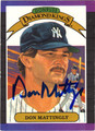 DON MATTINGLY AUTOGRAPHED BASEBALL CARD #71912H