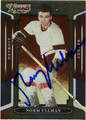 NORM ULLMAN AUTOGRAPHED HOCKEY CARD #72011S