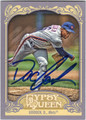 "DWIGHT ""DOC"" GOODEN NEW YORK METS AUTOGRAPHED BASEBALL CARD #72113C"