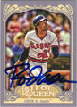 ROD CAREW CALIFORNIA ANGELS AUTOGRAPHED BASEBALL CARD #72013H