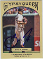 BARRY ZITO AUTOGRAPHED BASEBALL CARD #72611D