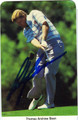 ANDY BEAN AUTOGRAPAHED GOLF CARD #72611N