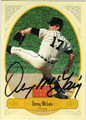 DENNY McCLAIN DETROIT TIGERS AUTOGRAPHED BASEBALL CARD #72513G