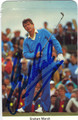 GRAHAM MARSH AUTOGRAPHED GOLF CARD #72711D