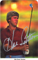 HAL SUTTON AUTOGRAPHED GOLF CARD #72811M