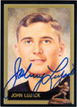 JOHN LUJACK AUTOGRAPHED HEISMAN FOOTBALL CARD #72812N