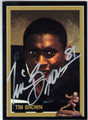 TIM BROWN NOTRE DAME FIGHTING IRISH AUTOGRAPHED FOOTBALL CARD #72813D