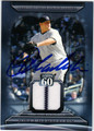 JOBA CHAMBERLAIN AUTOGRAPHED PIECE OF THE GAME CARD #72811T