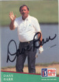 Dave Barr Autographed Golf Card 755