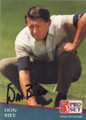 Don Bies Autographed Golf Card 761