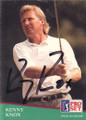 Kenny Knox Autographed Golf Card 798
