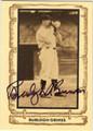 BURLEIGH GRIMES AUTOGRAPHED VINTAGE BASEBALL CARD #80313B