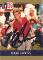 Mark Brooks Autographed Golf Card 804