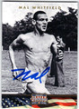 MAL WHITFIELD AUTOGRAPHED OLYMPIC TRACK & FIELD CARD #80313J