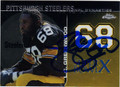 LC GREENWOOD AUTOGRAPHED FOOTBALL CARD #80211B