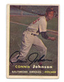 CONNIE JOHNSON AUTOGRAPHED CARD #80410V