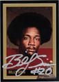 BILLY SIMS AUTOGRAPHED HEISMAN FOOTBALL CARD #80212B