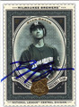 RYAN BRAUN MILWAUKEE BREWERS AUTOGRAPHED BASEBALL CARD #80413F