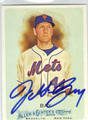 JASON BAY NEW YORK METS AUTOGRAPHED BASEBALL CARD #80813i