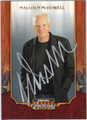 MALCOLM McDOWELL AUTOGRAPHED CARD #80912J