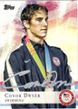 CONOR DWYER AUTOGRAPHED OLYMPIC SWIMMING CARD #80912O