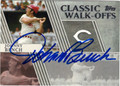 JOHNNY BENCH CINCINNATI REDS AUTOGRAPHED BASEBALL CARD #80813B