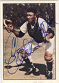 ELSTON HOWARD AUTOGRAPHED VINTAGE BASEBALL CARD #81012G