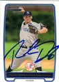 ROOKIE DAVIS NEW YORK YANKEES AUTOGRAPHED ROOKIE BASEBALL CARD #81013C