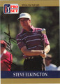 STEVE ELKINGTON AUTOGRAPHED GOLF CARD #81312A