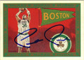 PAUL PIERCE BOSTON CELTICS AUTOGRAPHED BASKETBALL CARD #81513E