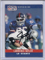 Lawrence Taylor Autographed Football Card #81610E