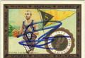 TONY PARKER SAN ANTONIO SPURS AUTOGRAPHED BASKETBALL CARD #81613D