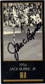 JACK BURKE JR GRAND SLAM VENTURES AUTOGRAPHED GOLF CARD #81613J