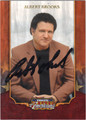 ALBERT BROOKS AUTOGRAPHED CARD #81812F