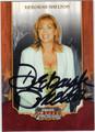 DEBORAH SHELTON AUTOGRAPHED CARD #81812E