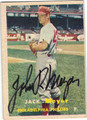JACK MEYER PHILADELPHIA PHILLIES AUTOGRAPHED VINTAGE BASEBALL CARD #81813C