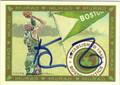 KEVIN GARNETT BOSTON CELTICS AUTOGRAPHED BASKETBALL CARD #81813H