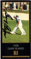 GARY PLAYER AUTOGRAPHED GRAND SLAM VENTURES GOLF CARD #81913A