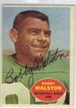 BOBBY WALSTON PHILADELPHIA EAGLES AUTOGRAPHED VINTAGE FOOTBALL CARD #81913B