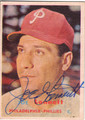 JOE LONNETT PHILADELPHIA PHILLIES AUTOGRAPHED VINTAGE BASEBALL CARD #81913C