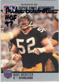 MIKE WEBSTER PITTSBURGH STEELERS AUTOGRAPHED FOOTBALL CARD #81913F