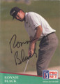 Ronnie Black Autographed Golf Card 820